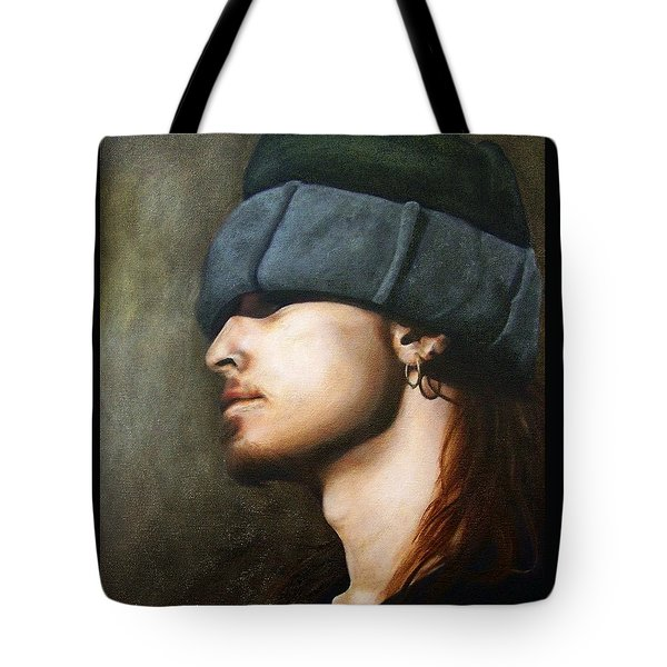 Ghost Tote Bag by Jena Rockwood