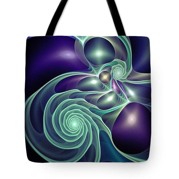 Ghost Lights Tote Bag