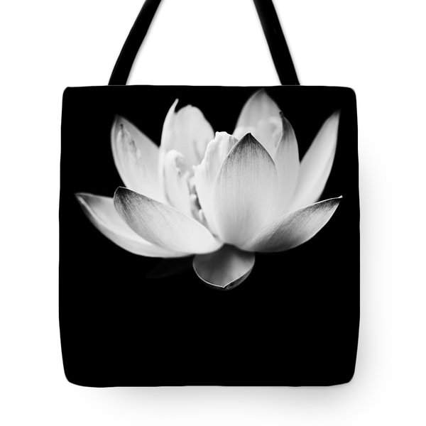 Ghost Lotus Tote Bag