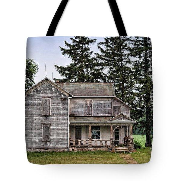 Ghost Manor Tote Bag by Pamela Baker