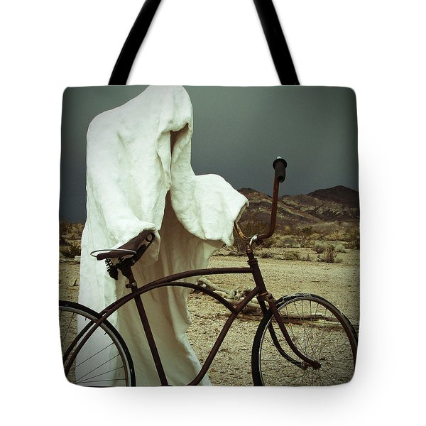 Ghost Rider Tote Bag by Marcia Socolik