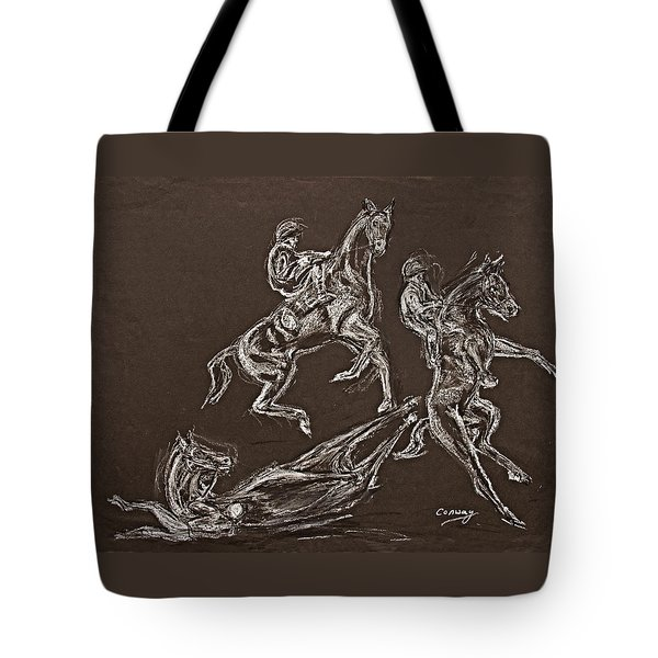 Ghost Riders In The Sky Tote Bag