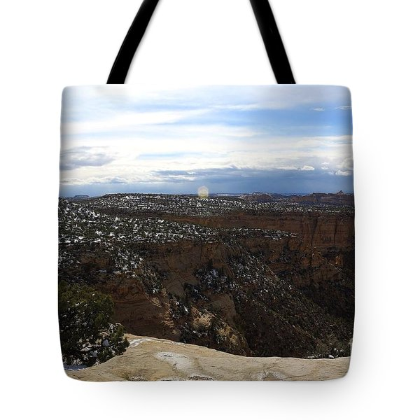 Ghost Rock Canyon Tote Bag