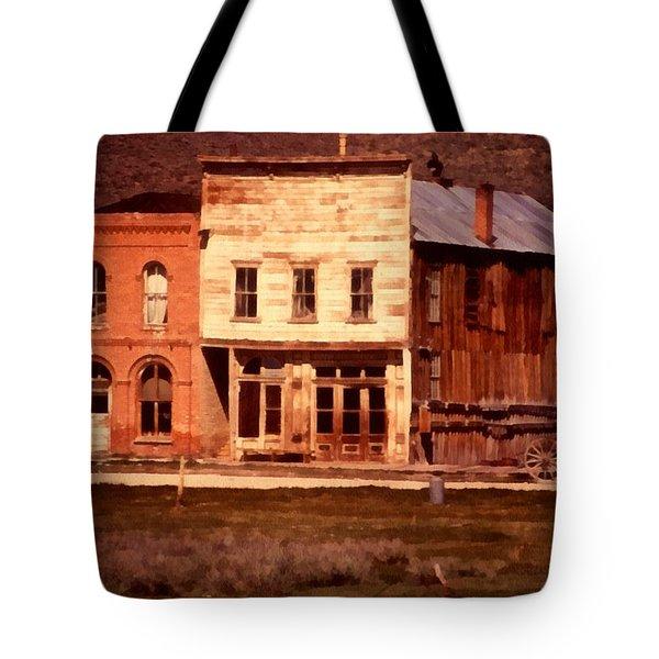 Ghost Town Bodie California Tote Bag by Dick Rowan