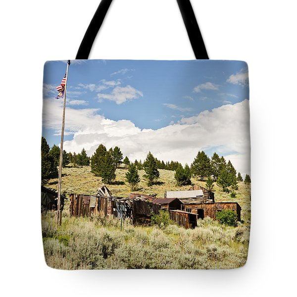Tote Bag featuring the photograph Ghost Town In Summer by Sue Smith