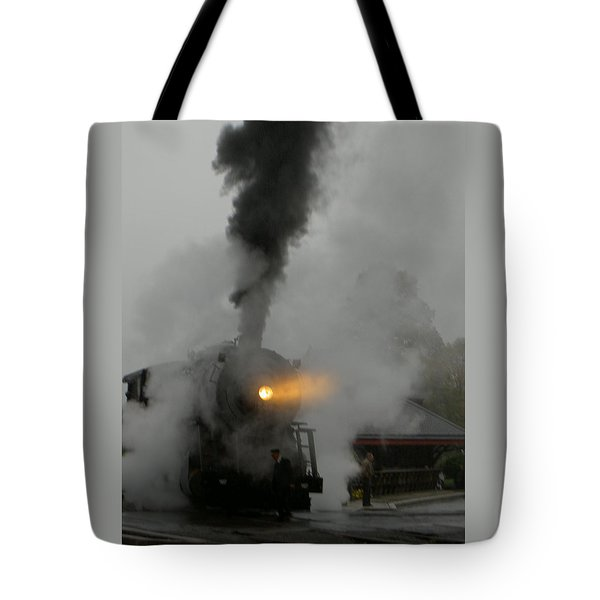 Ghost Train Tote Bag