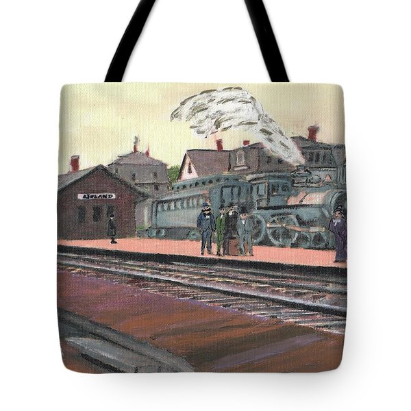 Ghost Train Tote Bag by Cliff Wilson