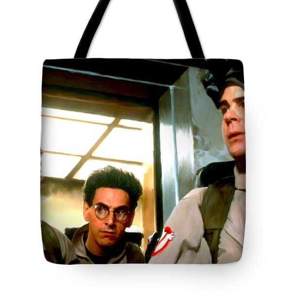 Ghostbusters Tote Bag by Paul Tagliamonte