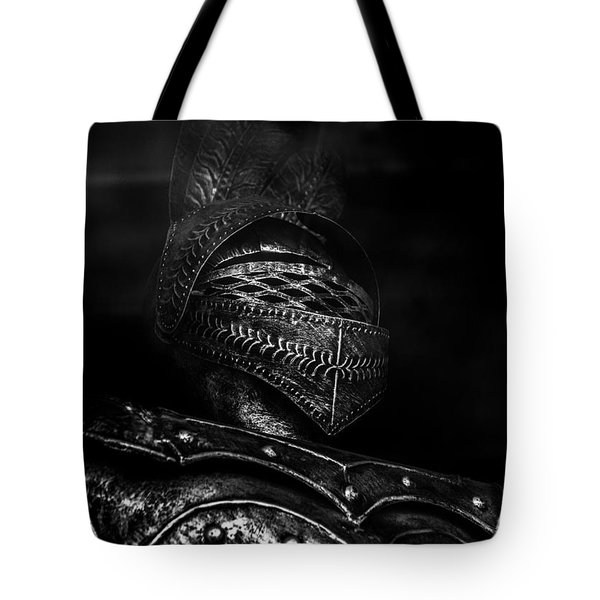Ghostly Knight Tote Bag
