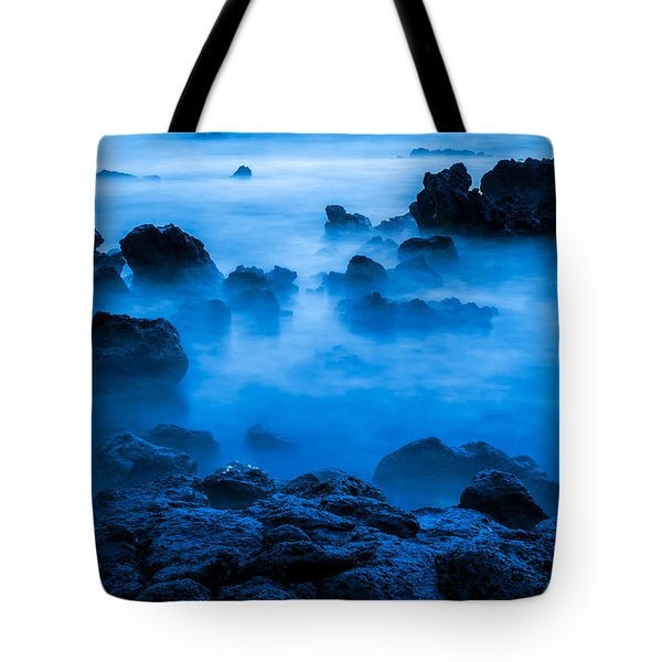 Ghostly Ocean 1 Tote Bag by Leigh Anne Meeks