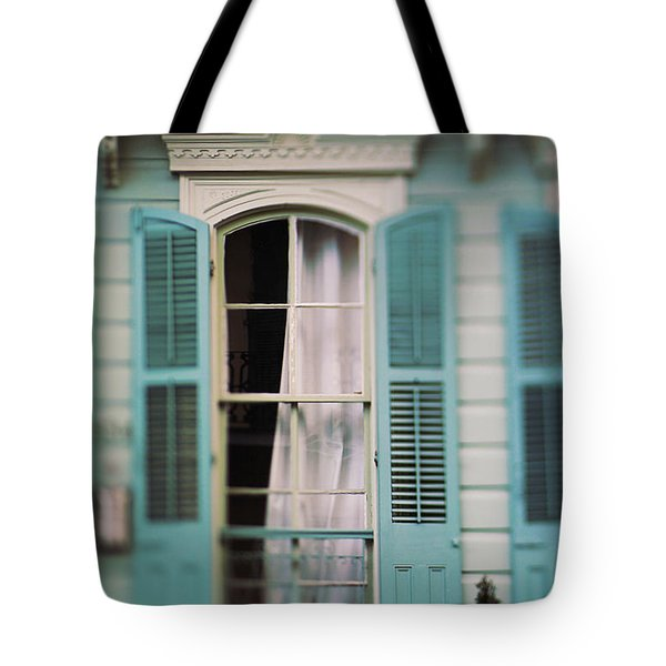 Ghostly Window Tote Bag