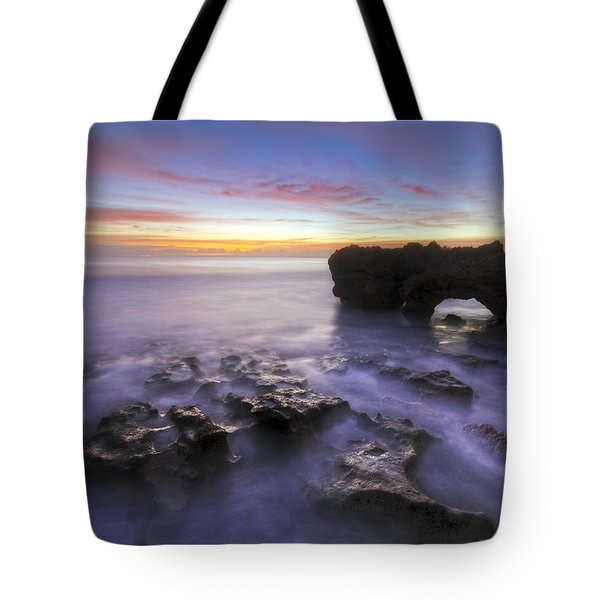 Ghosts In The Cove Tote Bag by Debra and Dave Vanderlaan