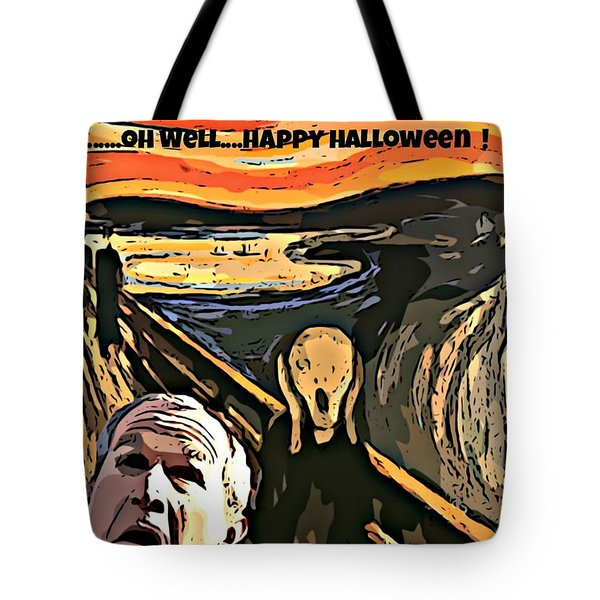 Ghosts Of The Past Tote Bag by John Malone