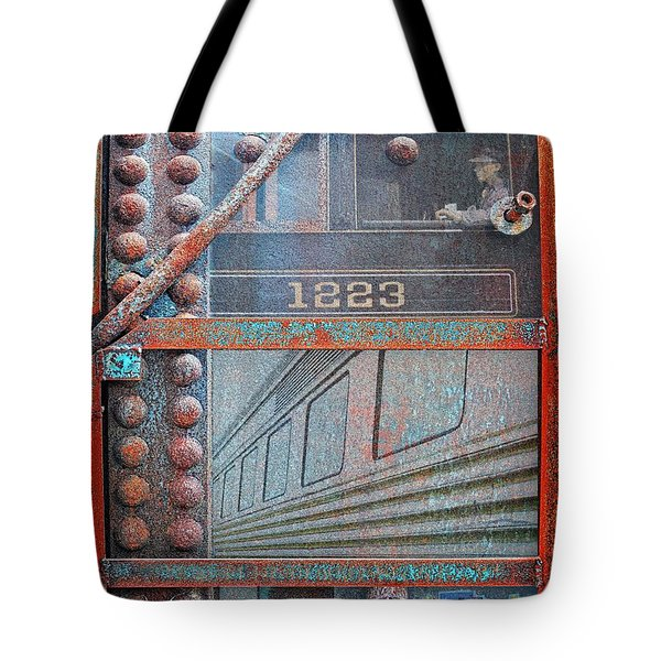 Ghosts Of The Railroad Tote Bag by Joseph J Stevens