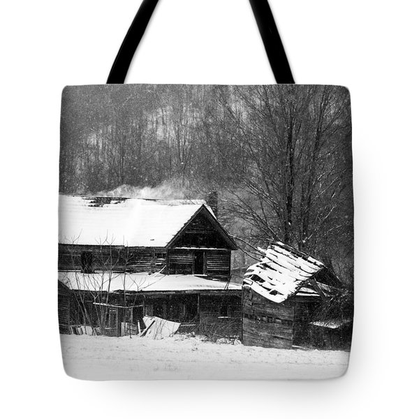 Ghosts Of Winters Past Tote Bag