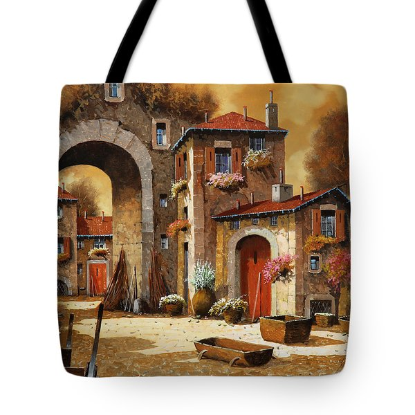 Giallo Tote Bag by Guido Borelli