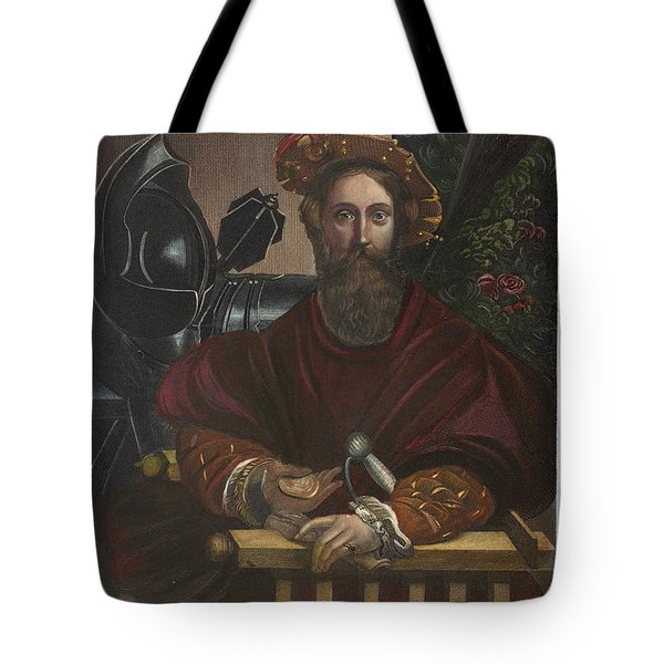 Tote Bag featuring the painting Gian Galeazzo Sanvitale by Granger
