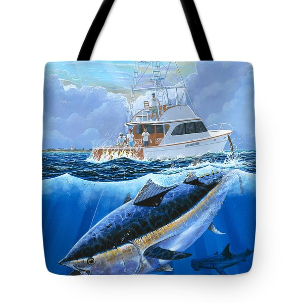Giant Bluefin Off00130 Tote Bag by Carey Chen