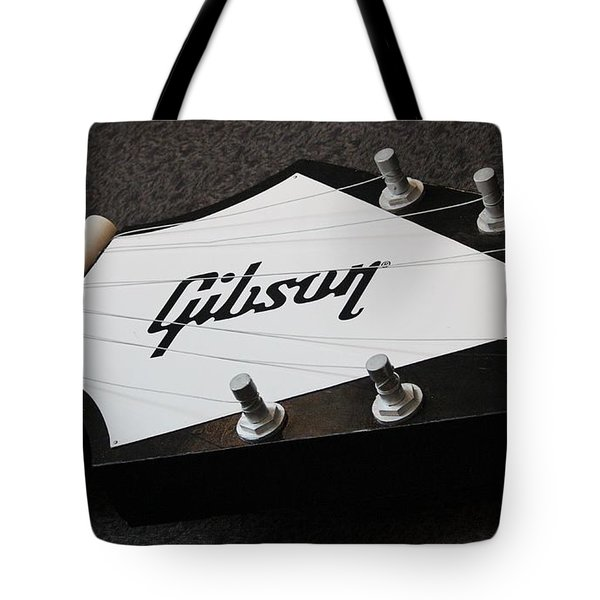 Giant Gibson Guitar Tote Bag