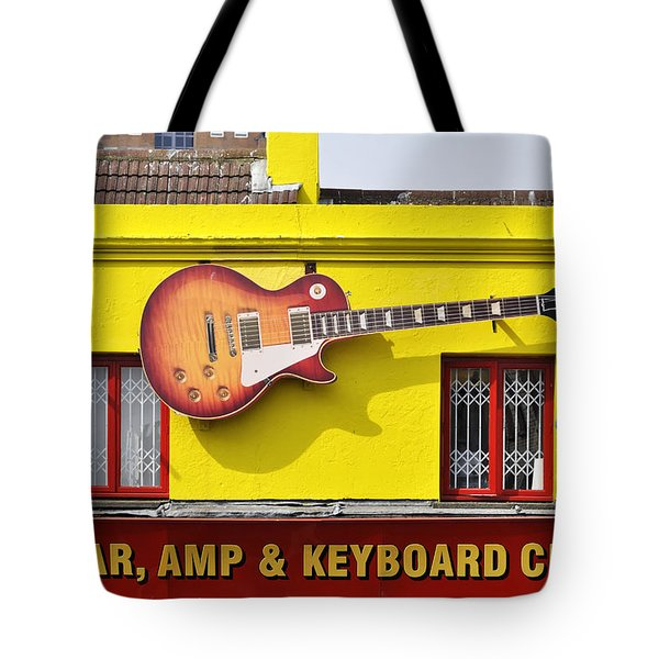 Giant Gibson Les Paul Tote Bag