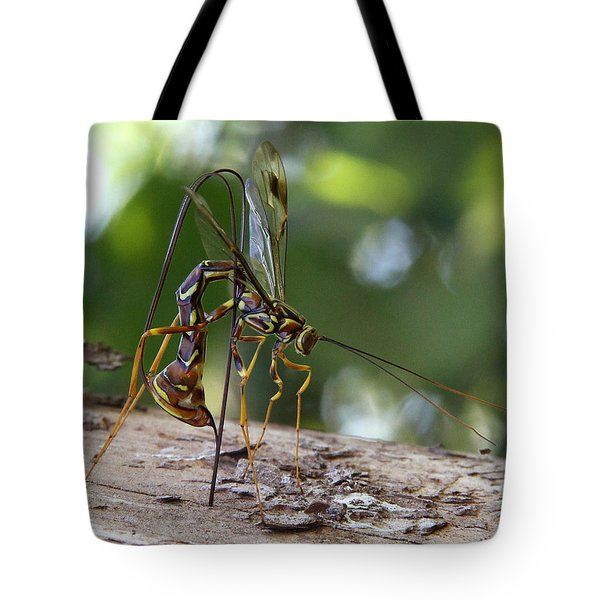 Giant Ichneumon Wasp Tote Bag