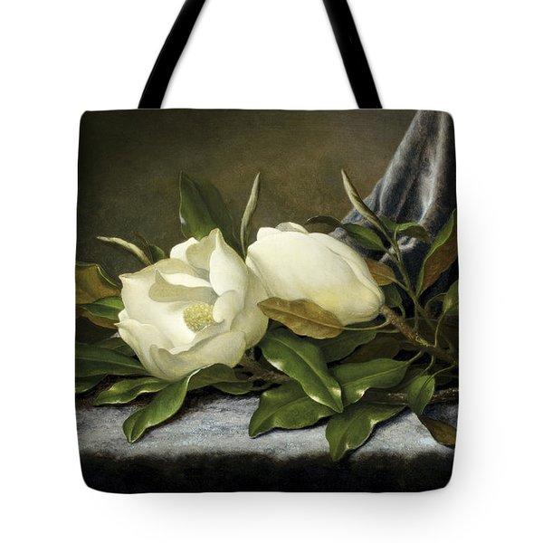 Giant Magnolias Tote Bag