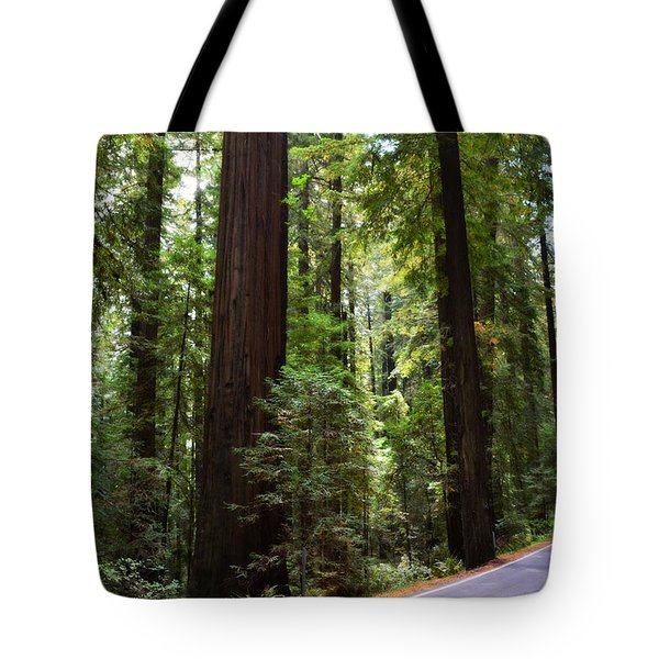 Giants And The Road Tote Bag