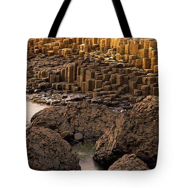 Giants Causeway, Antrim Coast, Northern Tote Bag
