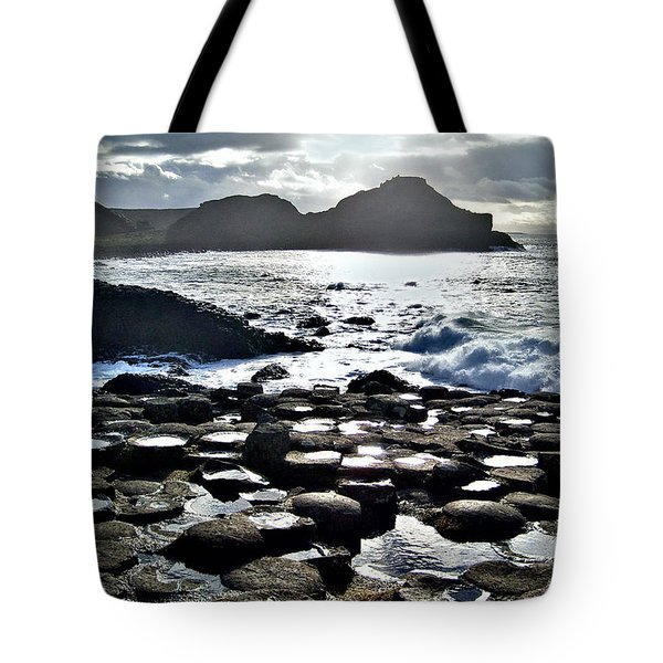 Giant's Causeway Sunset Tote Bag