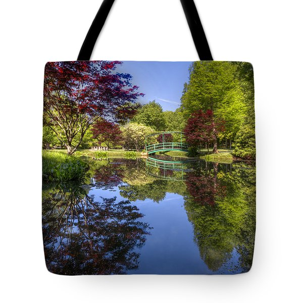 Gibbs Garden Tote Bag by Debra and Dave Vanderlaan