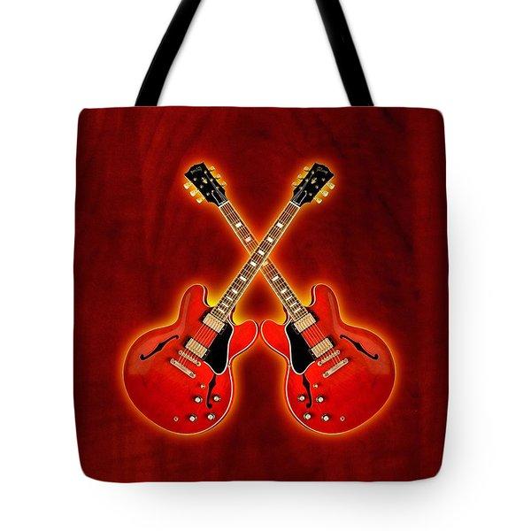 Gibson Es 335 Tote Bag by Doron Mafdoos
