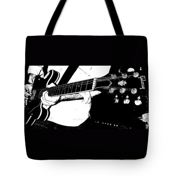 Gibson Guitar Graphic Tote Bag