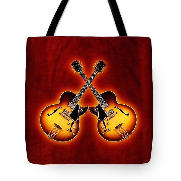 Gibson Jazz Tote Bag by Doron Mafdoos