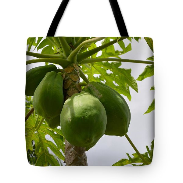 Gigantic Papaya Tote Bag