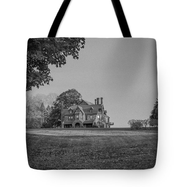 Gilded Age Mansion Tote Bag
