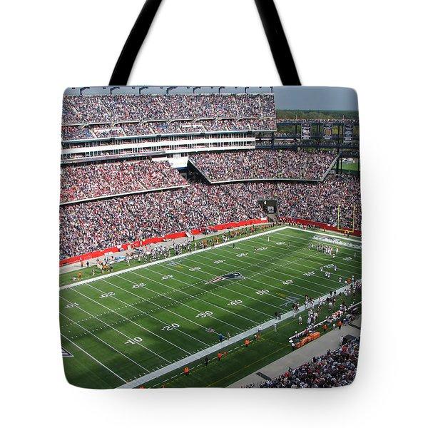 Gillette Stadium Tote Bag