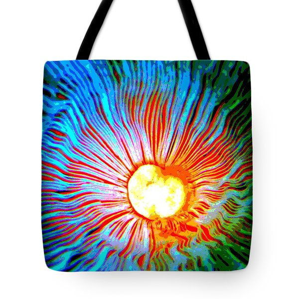 Tote Bag featuring the photograph Gills by Deena Stoddard