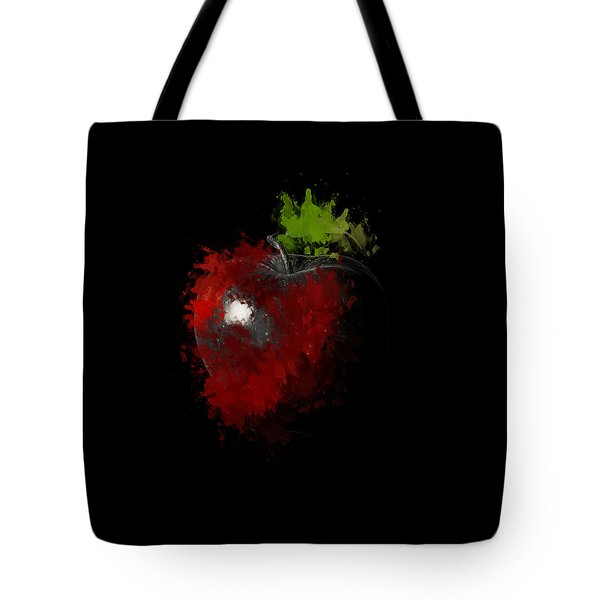 Gimme That Apple Tote Bag by Lourry Legarde