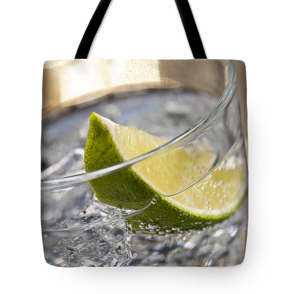 Gin Tonic Cocktail Tote Bag