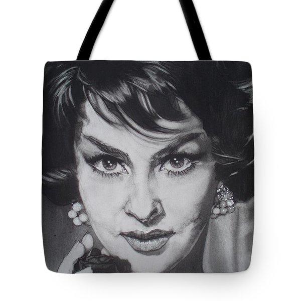 Gina Lollobrigida Tote Bag by Sean Connolly