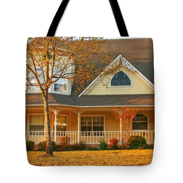 Ginger Bread Charm Tote Bag by Joan Bertucci