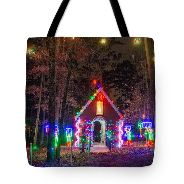 Ginger Bread House Tote Bag