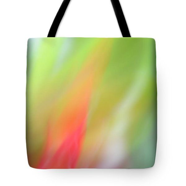 Ginger Flower Abstract 2 Tote Bag by Catherine Lau