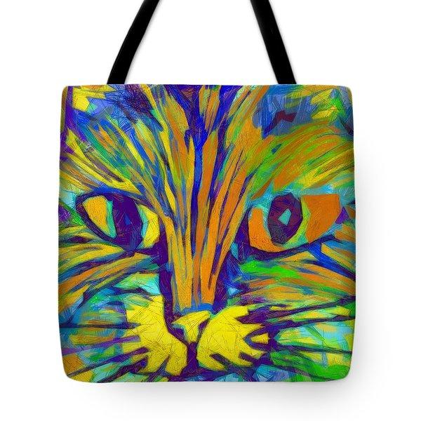 Ginger Kitty Tote Bag