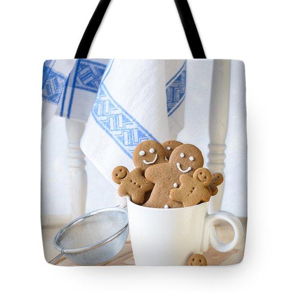 Gingerbread Biscuits Tote Bag