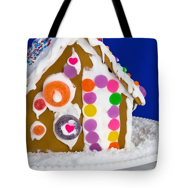 Tote Bag featuring the photograph Gingerbread House by Vizual Studio