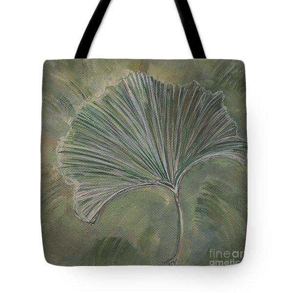 Ginko Leaf Tote Bag