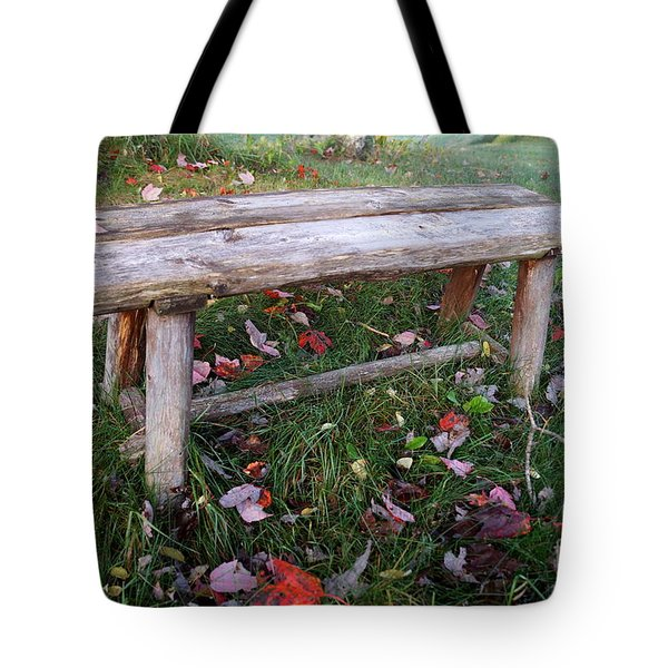 Ginny's Bench Tote Bag