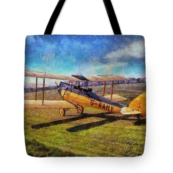Gipsy Moth Tote Bag