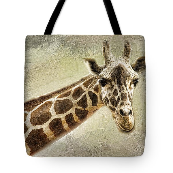 Giraffe Tote Bag by Linda Blair